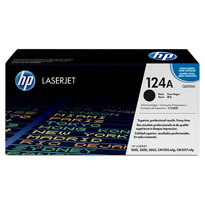 HP Cartridge No.124A Black (Q6000A)