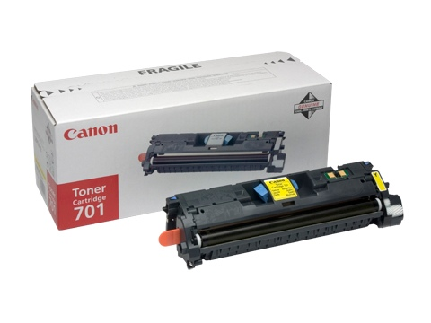 Canon Cartridge 701 Yellow (9284A003)