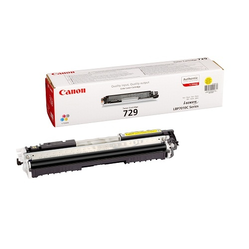 Canon Cartridge 729 Yellow (4367B002)
