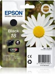 Epson Ink No.18 Black (C13T18014012)