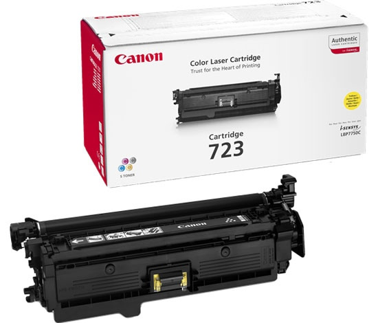 Canon Cartridge 723 Yellow (2641B002) (2641B011)