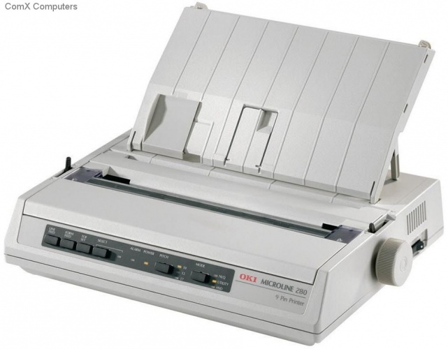 OKI ML280 Elite 9 Pin Dot Matrix Printer
