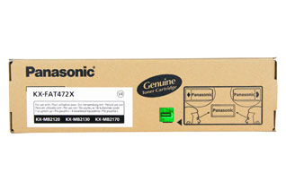 Panasonic Cartridge KX-FAT472X Black (KXFAT472X)