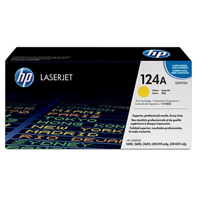 HP Cartridge No.124A Yellow (Q6002A)