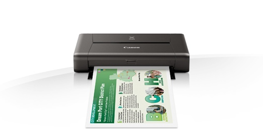 New inkjet printer, color, Canon PIXMA iP110