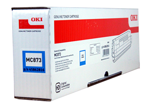 Oki Toner MC873 Cyan 10k (45862816)