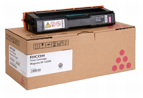 Ricoh Cartridge Type SP C220E Magenta (407644) 2k (406100) (406054) (406767)