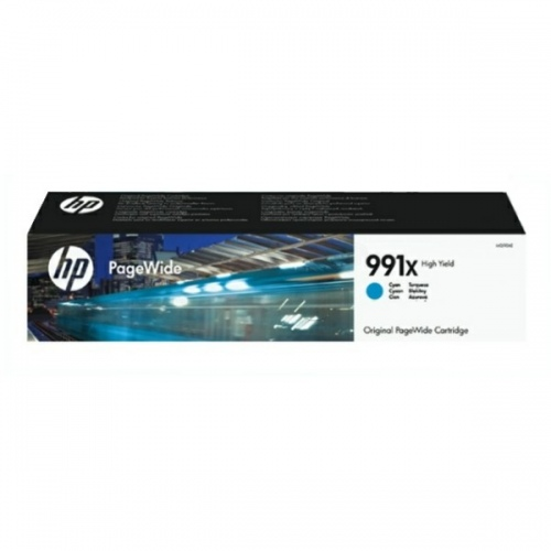 HP Cartridge No.991X Cyan (M0J90AE)