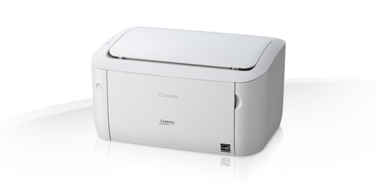 New laser printer, black and white, Canon i-SENSYS LBP6030w, WIFI, White