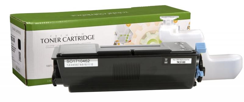 Compatible Static-Control Kyocera TK-3100, Black, 12500 p.