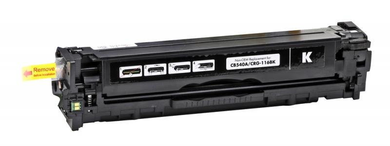 Compatible Static-Control Hewlett-Packard CB540A/CE320A/CF210X/CRG716, Black, 2400 p. IP Safe