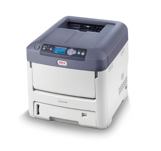 OKI Pro7411WT (44205445), new laser printer, color