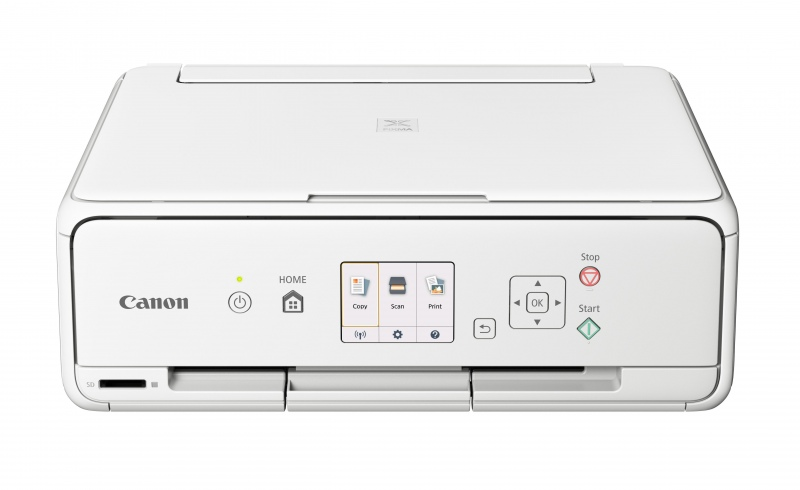 CANON PIXMA TS5051 All-in-One Wireless Inkjet Printer, A4, Wi-Fi, White