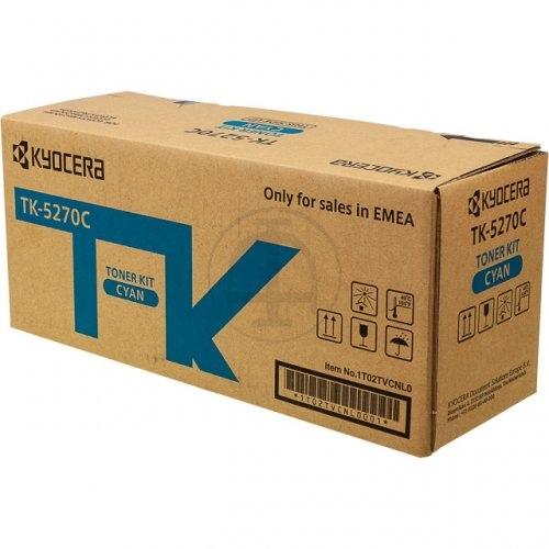 Kyocera Toner TK-5270C Toner-Kit Cyan (1T02TVCNL0)