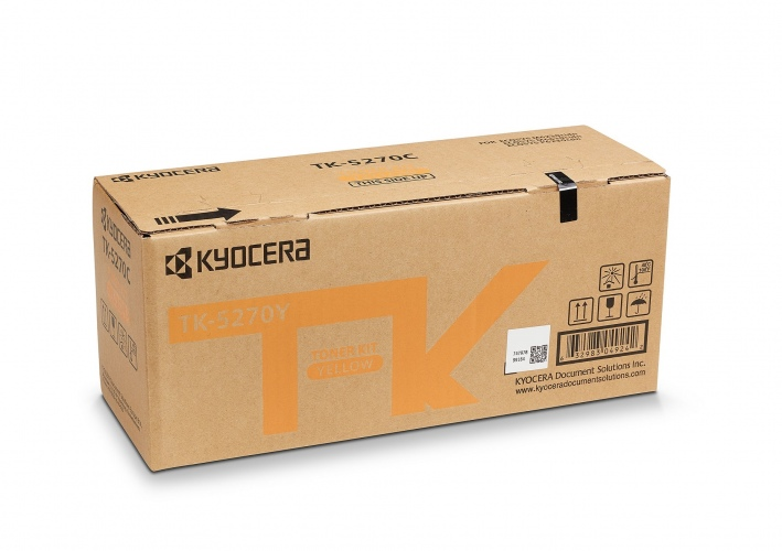Kyocera Toner TK-5270Y Toner-Kit Yellow (1T02TVANL0)