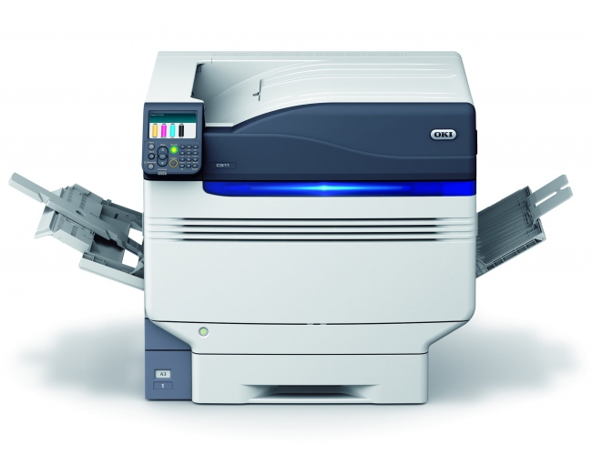 OKI Pro9541dn (46291801), new laser printer, A3, color (CMYK+WT or Clear)