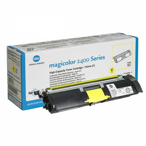 Konica-Minolta Cartridge MC2400 Yellow 4,5k (1710589-005) (A00W132)