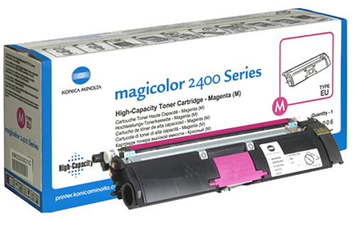 Konica-Minolta Cartridge MC2400 Magenta 4,5k (1710589-006) (A00W232)