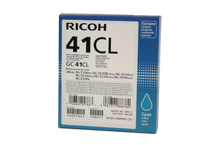 Ricoh Ink Cart. GC41 Cyan Low 0,6k (405766)