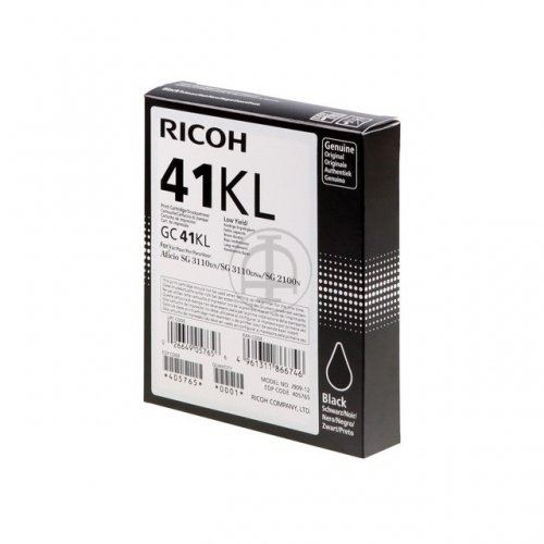 Ricoh Ink Cart. GC41 Black Low (405765)