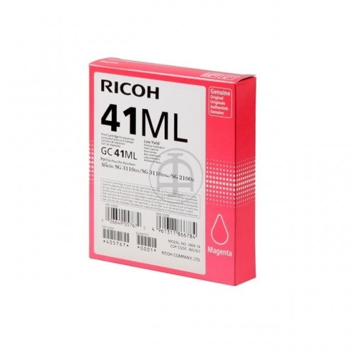 Ricoh Ink GC41 Magenta Low 0,6k 405767