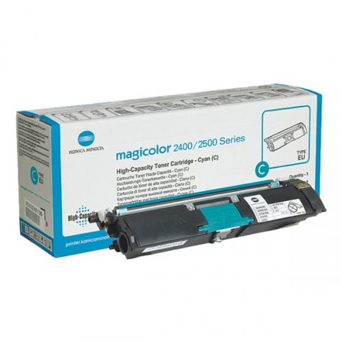 Konica-Minolta Cartridge MC2400 Cyan 4,5k (1710589-007) (A00W332)