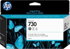 HP 730 130-ml Gray DesignJet Ink Cartridge (P2V66A)