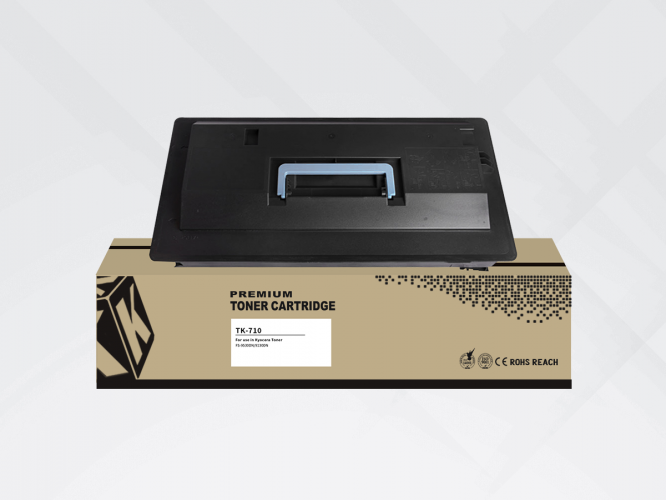 Compatible HYB Kyocera TK-710 Black, 40000 p.