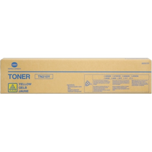 Konica-Minolta Toner TN-210 Yellow (8938510)