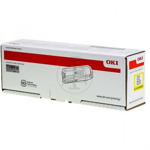Oki Toner C532 / MC573 Yellow 6k (46490605)