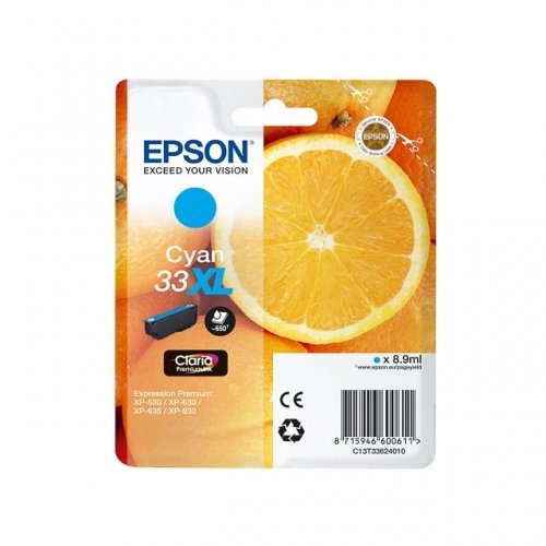 Epson Ink Cyan No.33XL (C13T33624012)
