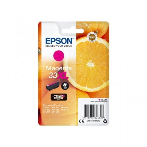 Epson Ink Magenta No.33XL (C13T33634012)