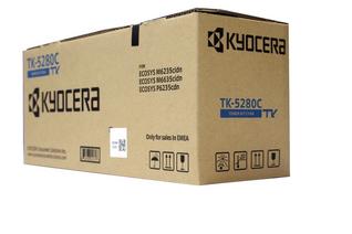 Kyocera Toner TK-5280C Toner-Kit Cyan (1T02TWCNL0)