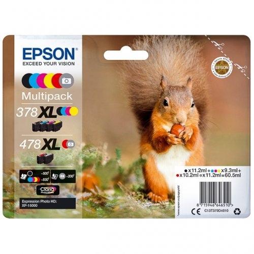 Epson printcartridge multipack C13T379D4010, 378XL478XL