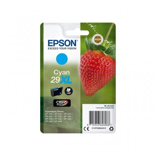 Epson Ink Cyan No.29XL HC (C13T29924012)