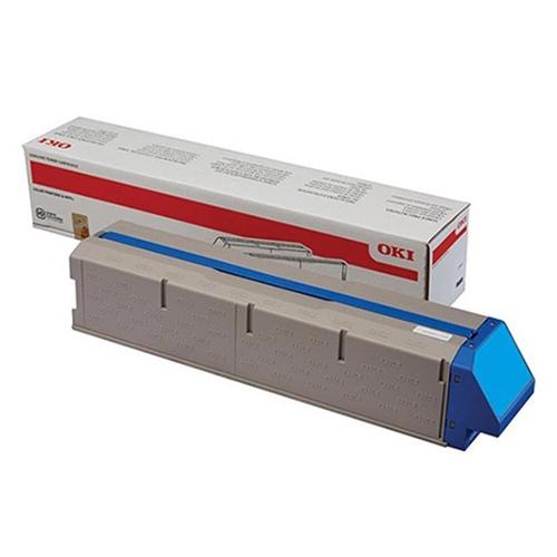Oki toner cartridge cyan (45536415)