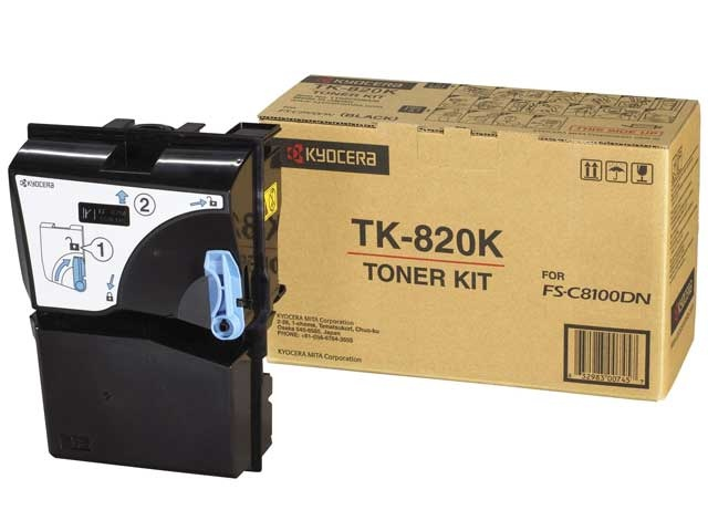Kyocera Cartridge TK-820 Black (1T02HP0EU0)