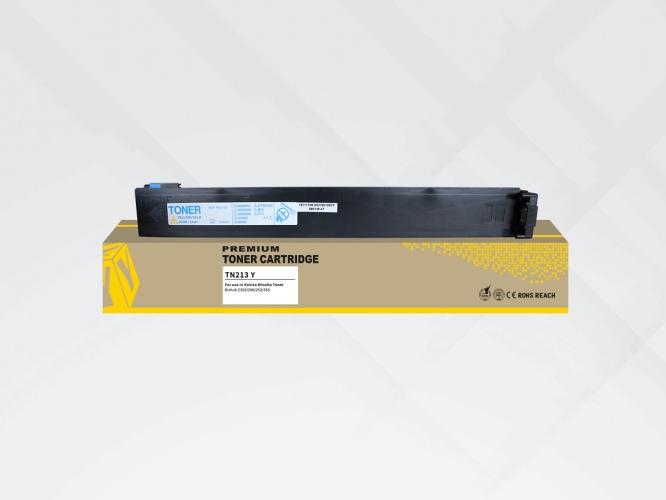 Compatible HYB Minolta TN-213/ TN-214 Yellow, 19000 p.