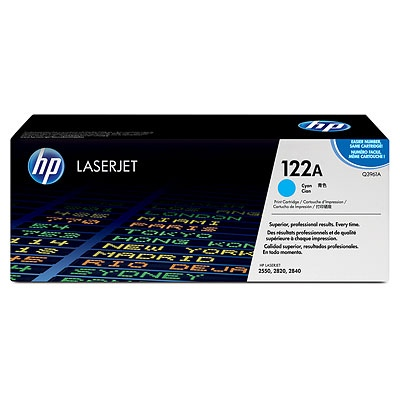 HP Cartridge No.122A Cyan (Q3961A)