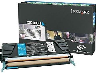 Lexmark Cartridge Cyan 5k (C5240CH)
