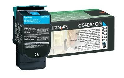 Lexmark Cartridge Cyan (C540A1CG) Return