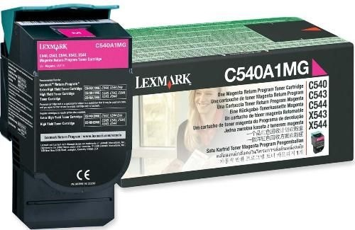 Lexmark Cartridge Magenta (C540A1MG) Return
