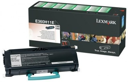 Lexmark Cartridge Black (E360H11E) Return