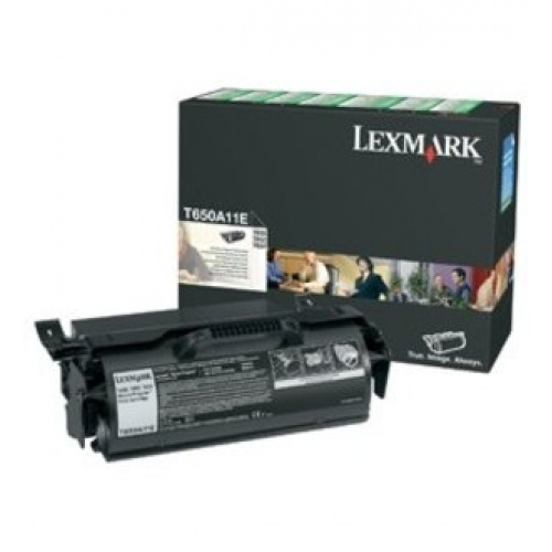 Lexmark Cartridge Black LC (T650A11E) Return