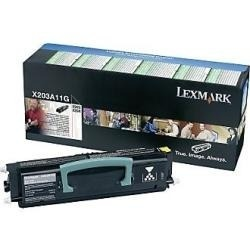 Lexmark Cartridge Black (X203A11G) Return
