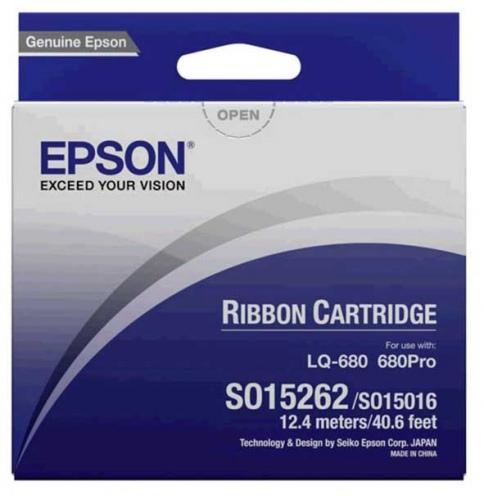 Epson Ribbon Black S015016 (C13S015262) (Ersatz für C13S015016)