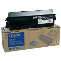 Epson Cartridge Black (C13S050437) (C13S050435)