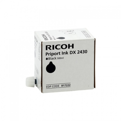 Ricoh Ink DX2430 Black (893787) (893788) (817222) (1VE=5 pcs)