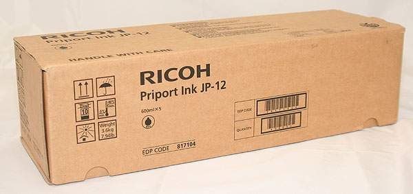Ricoh Ink JP 12 Black (817104) (1VE=5 pcs)