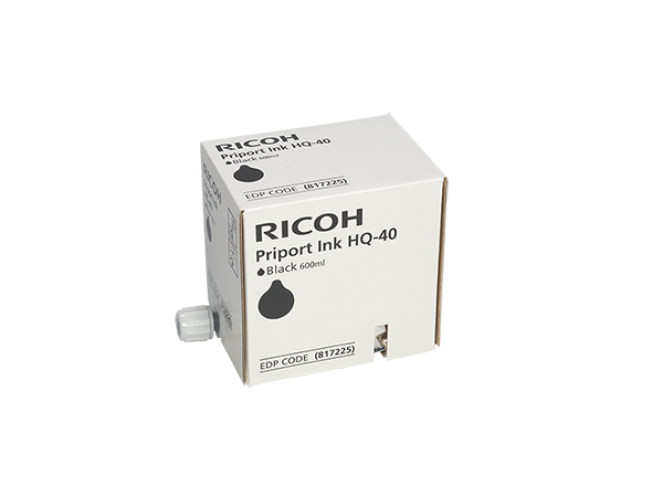 Ricoh Ink JP 4500 HQ 40 Black (817225) (1VE=5 pcs)